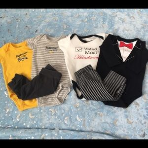Baby boy Bundle of 3month outfits